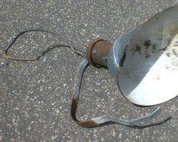 Lampe, Lampen, Lampenschirm; Elektro, Wandlampe