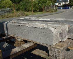 Basaltsteine, Basalt, Schnittmaterial, Treppenstufe,