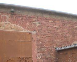 Sandstein Bruchstein Sockelstein roter Sandstein Mauer