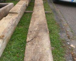 Fachwerkbalken, Holzbalken, Balken, Eiche, Eichenfachwerkbalken