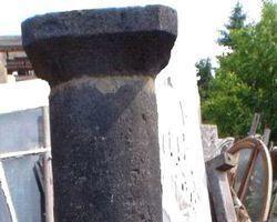 Steinsäulen, Basaltsäule, Säulen, Kapitell, Basis, Basalt , Sänder,