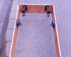 Speichertreppe, Leiter, Dachgeschoßtreppe mit Rahmen