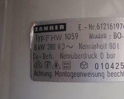 Boiler, Badeofen, Warmwasserbereiter, Durchlauferhitzer