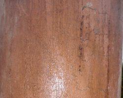 Holzsäule , Säulen, Eichensäule, Fachwerkstütze, Eichenständer, Ständer, Kapitell, Rundsäule, Eichenfachwerkbalken