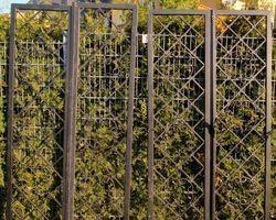 Zaun, Gittertür, Zaunelement, Tor, Gitter, Törchen