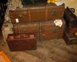 Koffer, Reisekoffer, Überseekoffer, Urlaubs-oder Autokoffer
