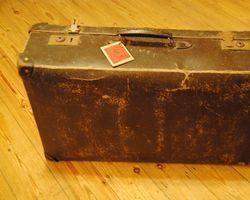 Koffer, Lederkoffer