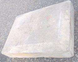 Sandstein, Fundament; Basis, Postament, Abdeckung