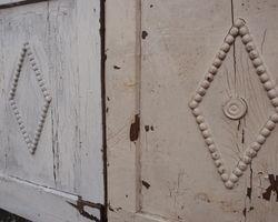 Wandvertäfelung, Wandverkleidung, Biedermeier Nussbaum. Lamperie