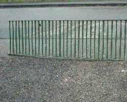 Gitter von Pferdeboxen