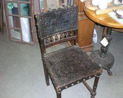 Stuhl, Stühle, Ledersitze