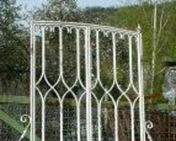2-Flügelig, Tor, Schmiedeeisentor, Zaun, Einfahrtstor, Gitter, Tür, Törchen