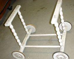Puppenwagen-Untergestell, Kinderwagen