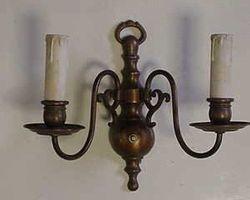 Lampe, Wandlampe