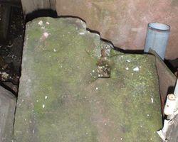 Sandstein, Sandsteinstufe, Steinstufe, Treppenstufe