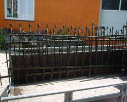 Zaun, Zaunelemente, Zäune,  Gitter, Schmiedeeisen