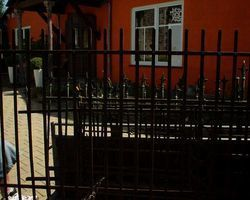 Zaun, Zaunelemente, Zäune, schmiedeeisen Eisen Gitter, Schmiedeeisen
