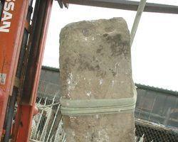 Steine, Treppenstufe
