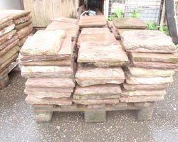 Sandsteinplatten, Bodenplatten, Steinboden, Sandsteinboden