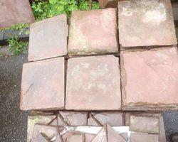 Sandsteinplatten, Bodenplatten, Steinboden