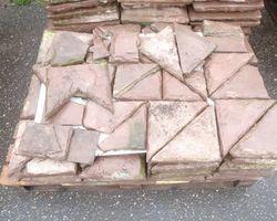 Sandsteinplatten, Bodenplatten, Natursteinboden,