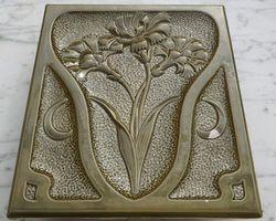 alte Ofenkacheln Keramik Blumen Jugendstil antik Kamin OFM Meißen Lehmofen Ergänzung Landhaus DIY