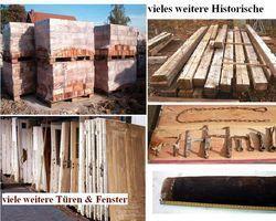 original historischer Maueranker T-Form Schmiedeeisen Dachstuhl Holzbau