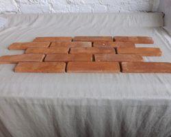 Ziegel Loft Industrie Style Verblender alternative Wandgestaltung Steinfliesen Ziegelsteine Mauersteine Landhaus kamin Küchenrückwand Fliesen klassisch antik