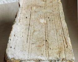 Antike Ziegelsteine rustikale Klinker Verblender alte Mauersteine historisches Mauerwerk mediterran