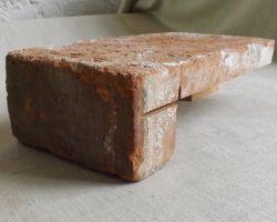 Fensterbank Fensterbrett Klinker Ziegel Mauerstein Feldbrand Fliese historisch sanieren Eckriemchen Antik Riemchen