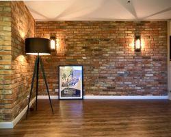 neue MwSt. rot bunte Ziegel Verblendsteine Klinkerriemchen original Mauerziegel Backstein rustikal Loftoptik Steinwand Wandverkleidung Wandpaneele Ziegelwand Fliesen
