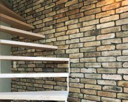 Mediterrane Wandgestaltung Antike Ziegel Riemchen originale Rückbau Back Steine Steinoptik Natur Produkt
