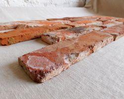 Loft Ziegel Verblendsteine Klinker Riemchen original Mauerziegel Steinwand Antik used look