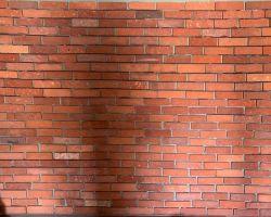Ziegel Steine Mauerziegel Backstein Wand Fliese Antik Riemchen Verblender Retro Kamin used Look Loft