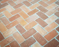 25 m² Fuß Boden Platten Ziegel Fliesen Back Stein Klinker Landhaus romantisch rustikal