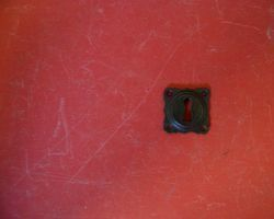 Schlüssel Rosette Eisen antik