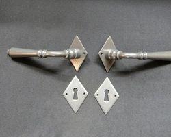 Drückergarnitur / Zimmertürgarnitur Eisen alt