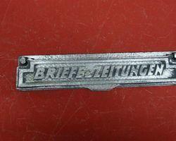 Briefkastenschlitzklappe Blech