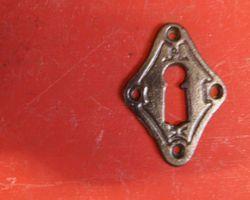 Schlüssel Rosette Gusseisen
